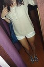 Beige-h-m-shirt-blue-c-a-bag-white-bow-bershka-shorts