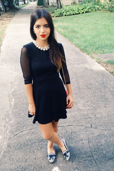 black Marshalls dress