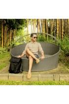 H&M shirt - Mango bag - H&M pants - H&M loafers