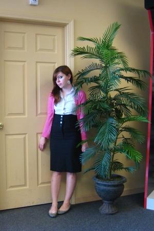 Gap sweater - Ross blouse - Ross skirt - Burlington coat factory shoes