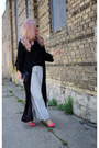 Bcbg-bag-steve-madden-heels-pants-blouse