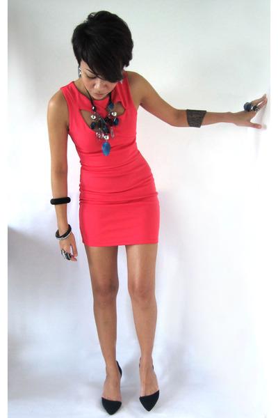 Zara shoes - Miss Selfridge dress - diva accessories