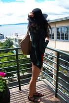 Urban Outfitters hat - Seneca Rising cardigan