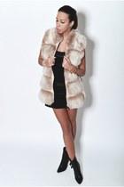 fur vest FLO&CLO vest - leather ovye boots