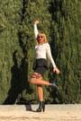 Black-coolwear-boots-black-pimkie-bag-white-lace-stradivarius-top