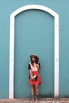 She Inside dress - Forever 21 bag - Prada sunglasses - tory burch sandals