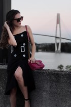 VIPshop dress - Gucci bag - le chateau sunglasses - Zara heels