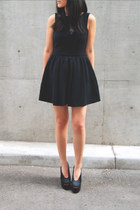 Topshop dress - acne heels