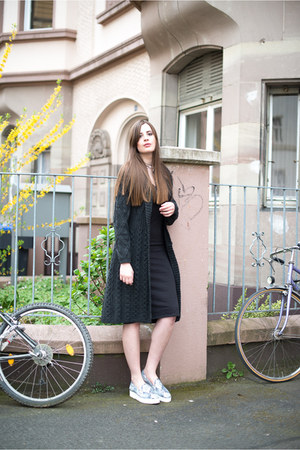 gray Aran Sweaters coat - white 181 shoes