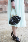 Light-blue-h-m-skirt-dark-gray-h-m-blouse