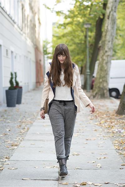 eggshell rosewe jacket - gray Primark pants