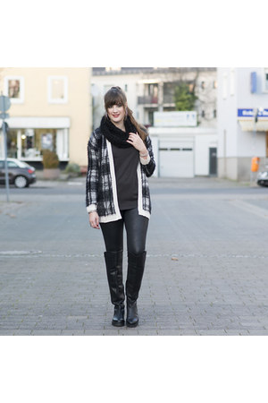 black ernstings family cardigan - black Oxmox boots