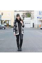 black ernstings family cardigan - black Oxmox boots