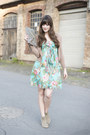 Aquamarine-european-culture-dress-light-brown-toms-wedges