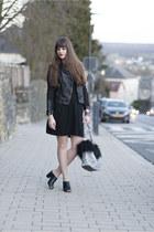 black JustFab heels - black Cheap Monday jacket