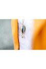 Light-orange-pepaloves-blazer-light-yellow-born-pretty-store-necklace