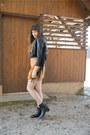 Black-sacha-shoes-black-h-m-jacket