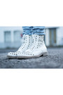 White-bronx-boots-sky-blue-h-m-jeans-light-blue-h-m-jacket