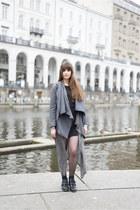 heather gray H&M cardigan