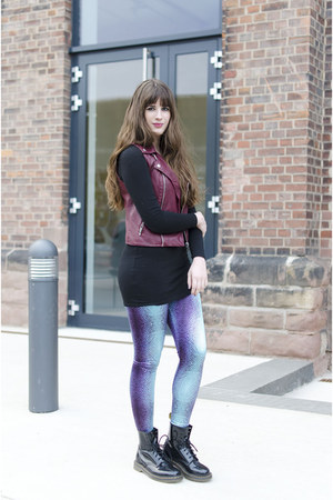 blue Arcanum Fashion leggings