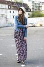 Black-only-dress-blue-vero-moda-jacket