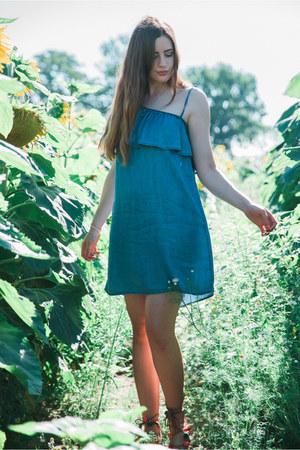blue misterlady dress