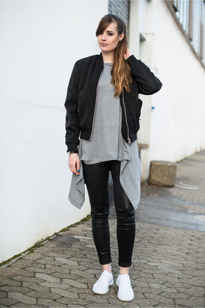 black Urban Outfitters jacket