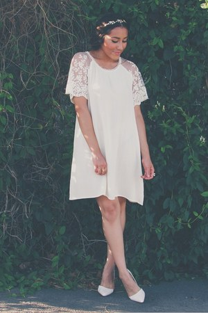 white lace Tumbleweedandlace dress