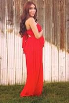 red blackfive dress