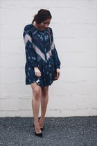 navy Sheinside dress
