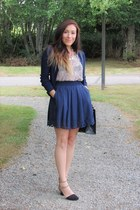 navy Chicwish skirt