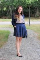 navy Chicwish skirt