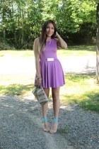 amethyst priiincesss dress - nude Forever 21 heels