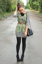green romwe vest