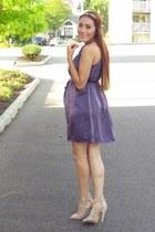 amethyst Choies dress - Choies hair accessory
