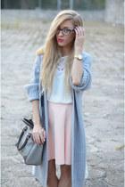 cardigan - skirt