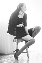 H&M dress - asos heels