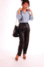 Eddie-bauer-shirt-vintage-chanel-purse-vintage-from-etsy-pants
