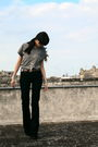 Gray-zara-t-shirt-blue-zara-jeans-brown-massimo-dutti-belt-brown-primadonn