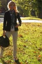 Antonio Melani blazer - Express jeans - Target purse - Marshalls scarf