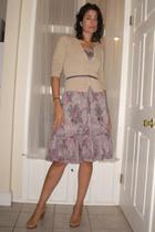 sweater - belt - dress - shoes