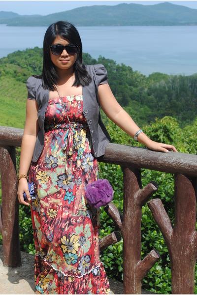 Dept Maxi Jurk.Thrifted Bags Maxi Dresses Sm Dept Store Blazers Thrifted