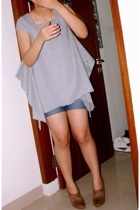 top - jeans - Zara shoes
