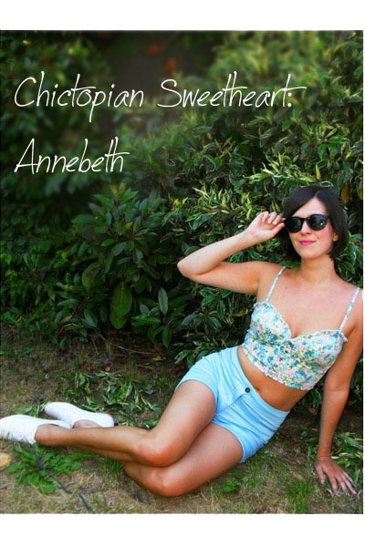 white shoes - blue shorts - black sunglasses - blue bustier
