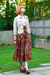 Red-zara-pants-purple-vintage-blouse-beige-vintage-cardigan