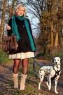 light pink Shoes in the box boots - black Vero Moda coat - black Hema tights