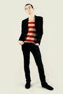 Black-shoes-black-pants-black-vest-white-t-shirt-black-scarf-black-glo