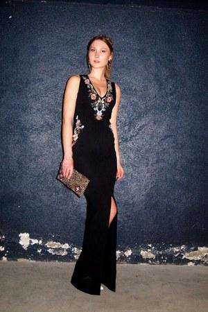 black embellished bag