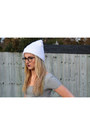 White-ebay-boots-blue-diy-cut-out-matalan-jeans-white-ebay-hat
