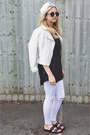 White-pu-primark-jacket
